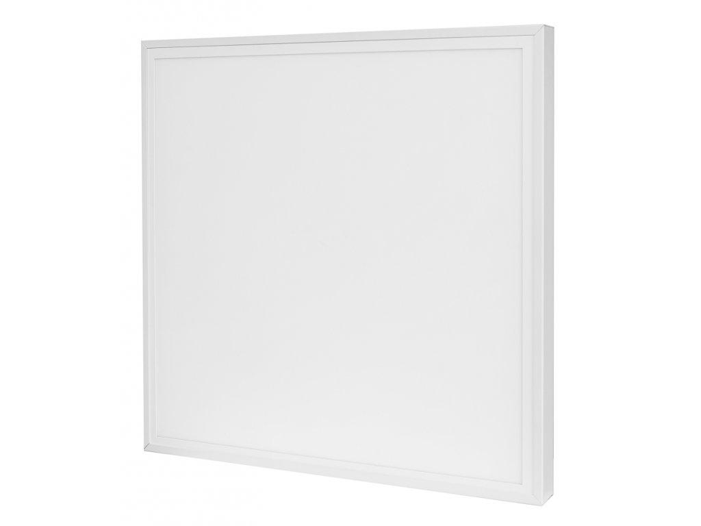 LED Solution Biely prisadený LED panel s rámčekom 600 x 600mm 40W Economy Farba svetla: Teplá biela