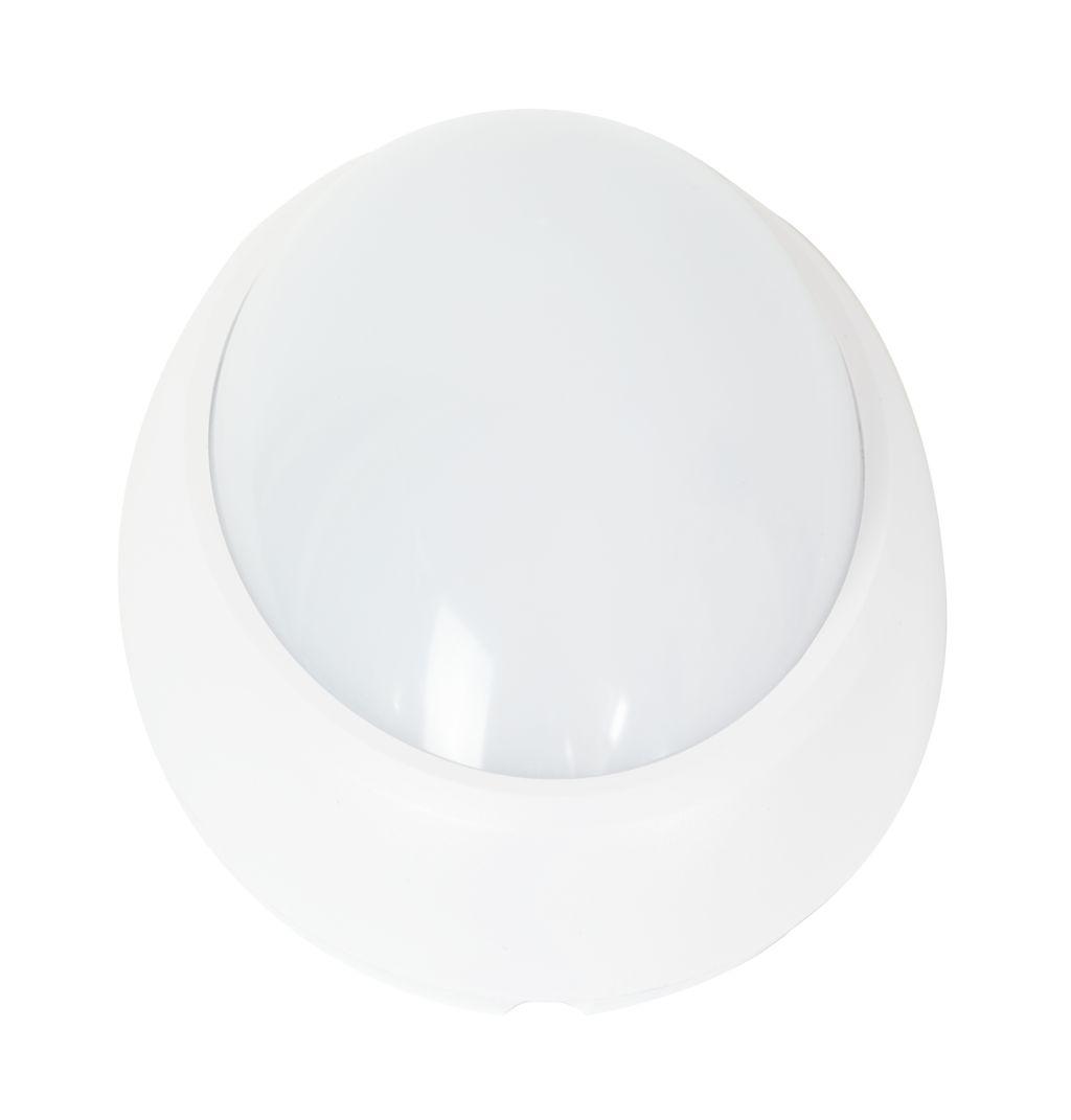 LED Solution Biele LED stropné/nástenné svietidlo 12W IP66 Farba svetla: Teplá biela 1351