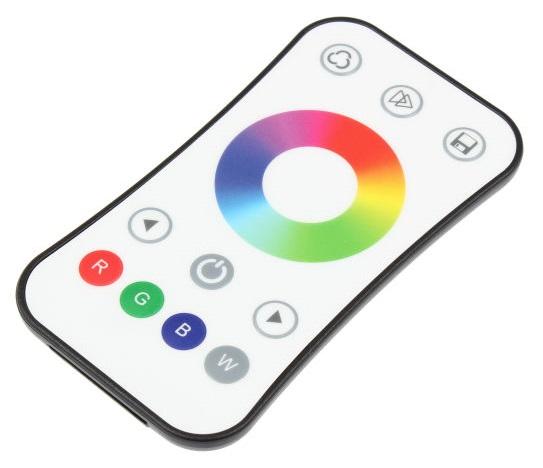 T-LED Diaľkový ovládač dimLED RGBW biely kanály: 1 Kanál 069203