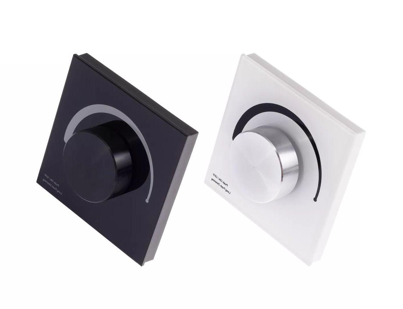 T-LED Nástenný Ovládač dimLED Farba:: čierna 069110