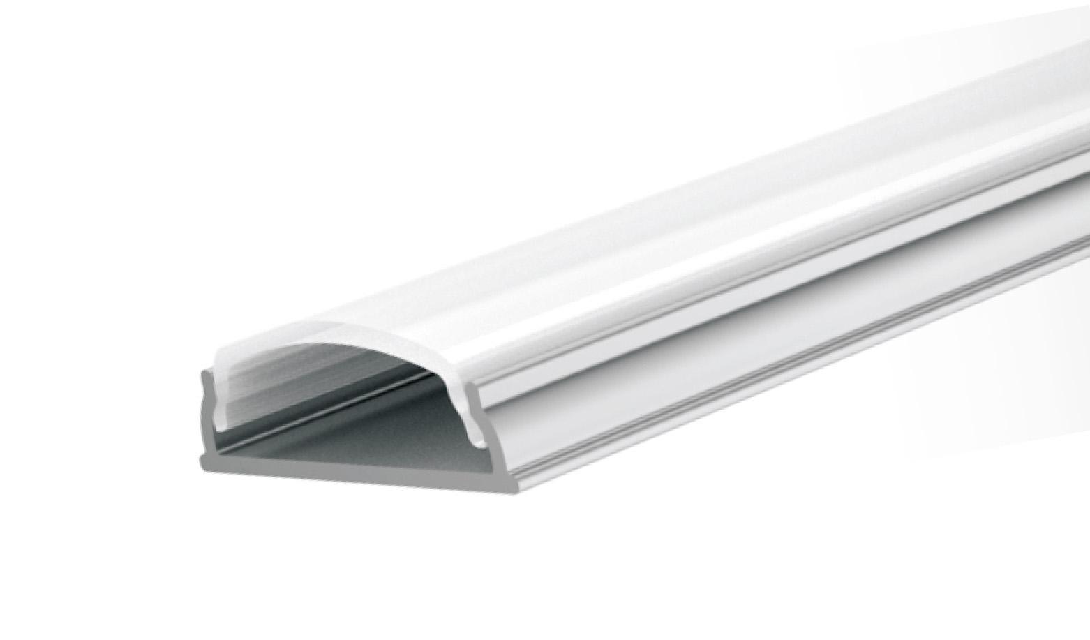 LED Solution Nástenný profil pre LED pásiky ohybný 2m LP105-MLK