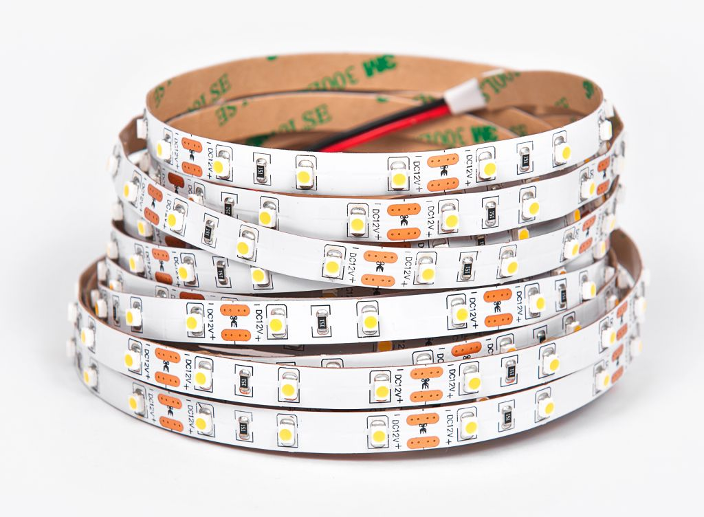 T-LED LED pásik 4,8W/m 24V bez krytia IP20 Farba svetla: Teplá biela 079241