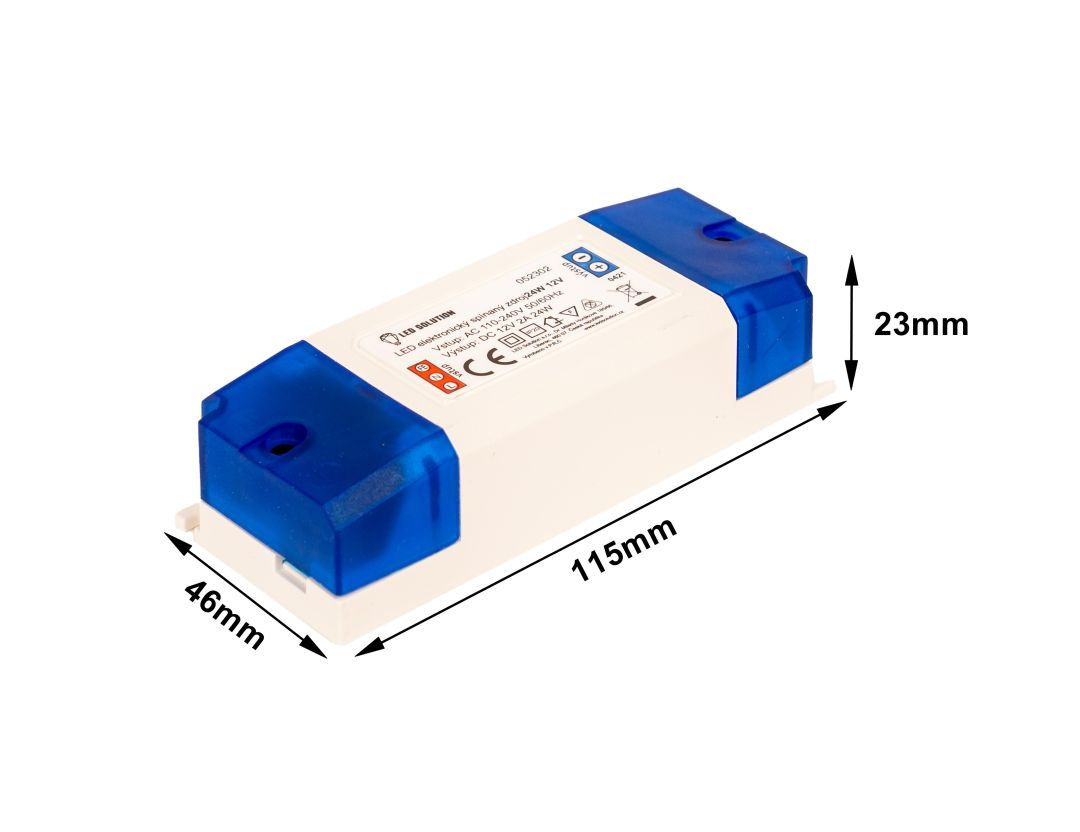 T-LED LED zdroj (trafo) 12V 24W vnútorný 052302