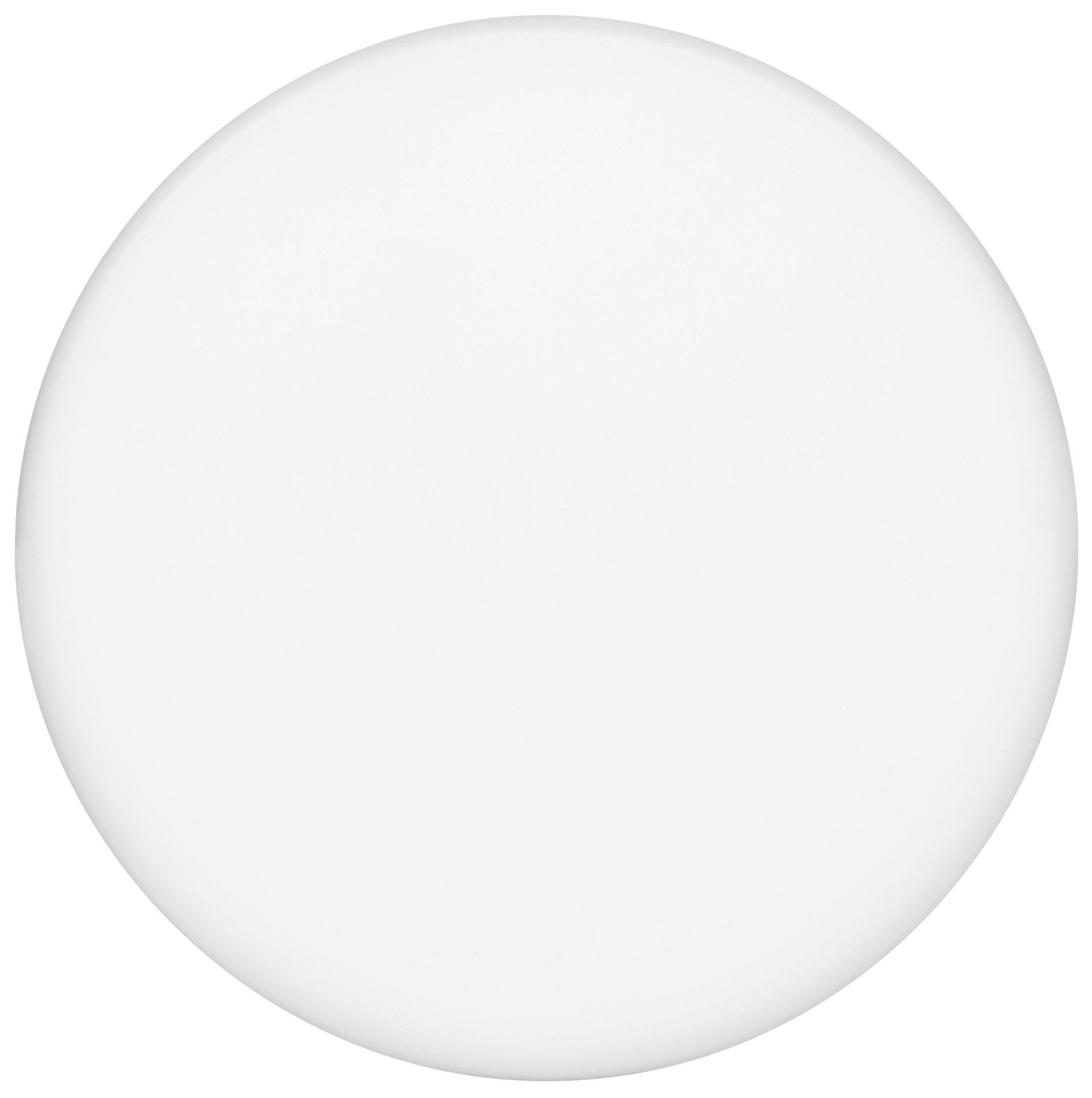 Ecolite Biely vstavaný LED panel guľatý 185mm 22W IP66 LED-NR-22W/IP66