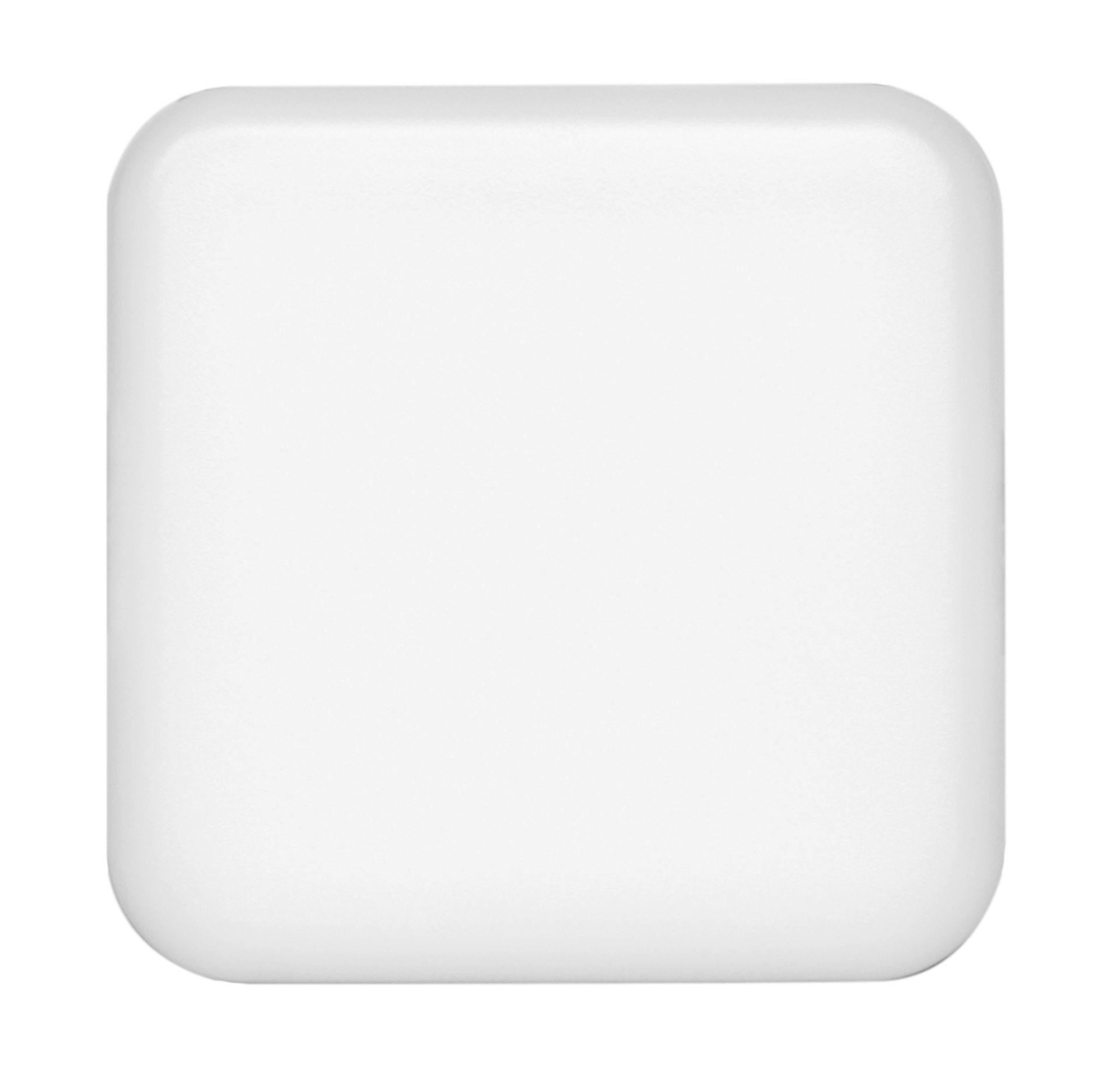 Ecolite Biely vstavaný LED panel hranatý 75 x 75mm 6W IP65 LED-NS-6W/IP66
