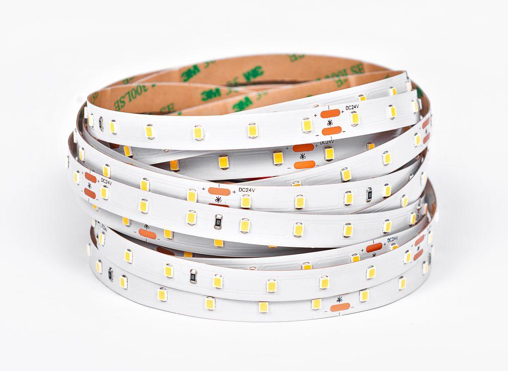 LED Solution LED pásik 9,6W/m 24V bez krytia IP20 160lm/W Farba svetla: Teplá biela 07301