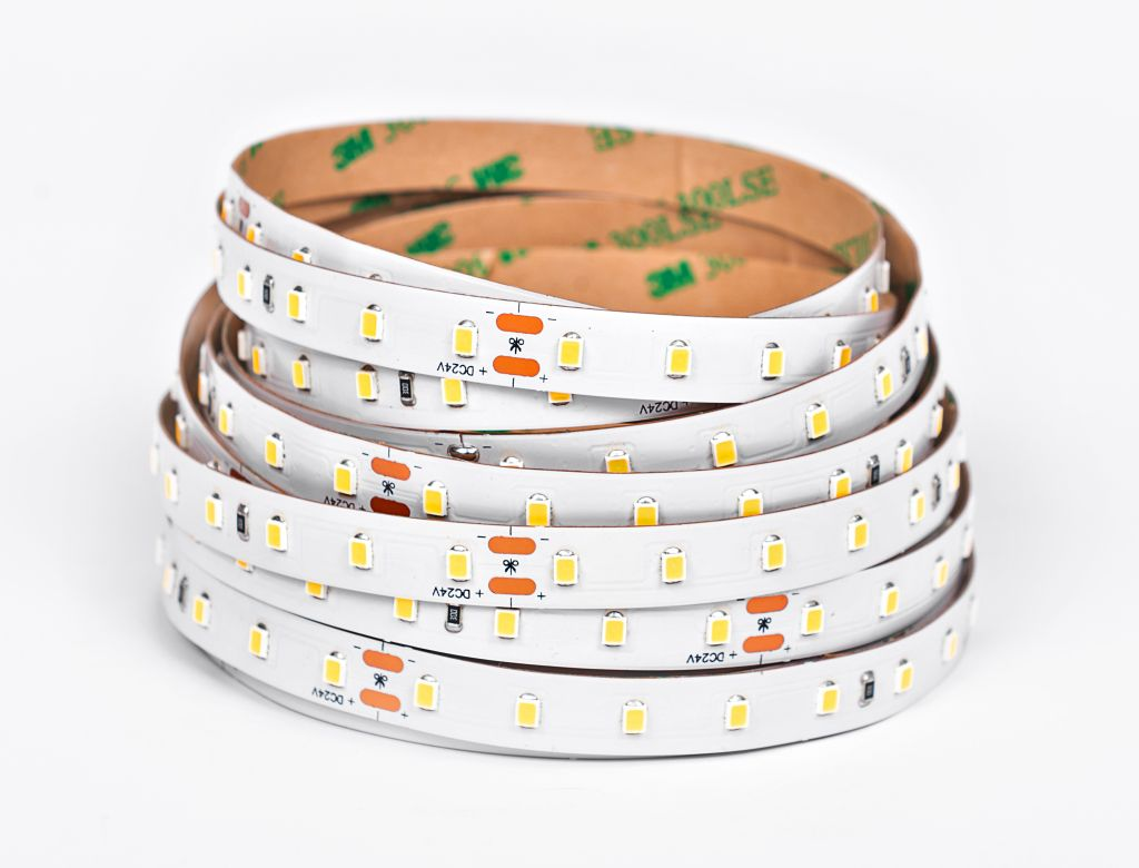 LED Solution LED pásik 12W/m 24V bez krytia IP20 160lm/W Farba svetla: Denná biela 07912