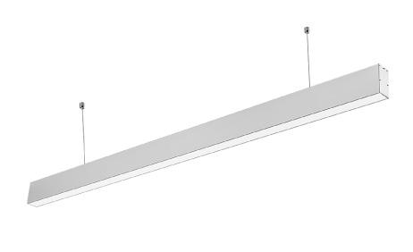 LED Solution Strieborné lineárne závesné LED svietidlo 40W Premium 376