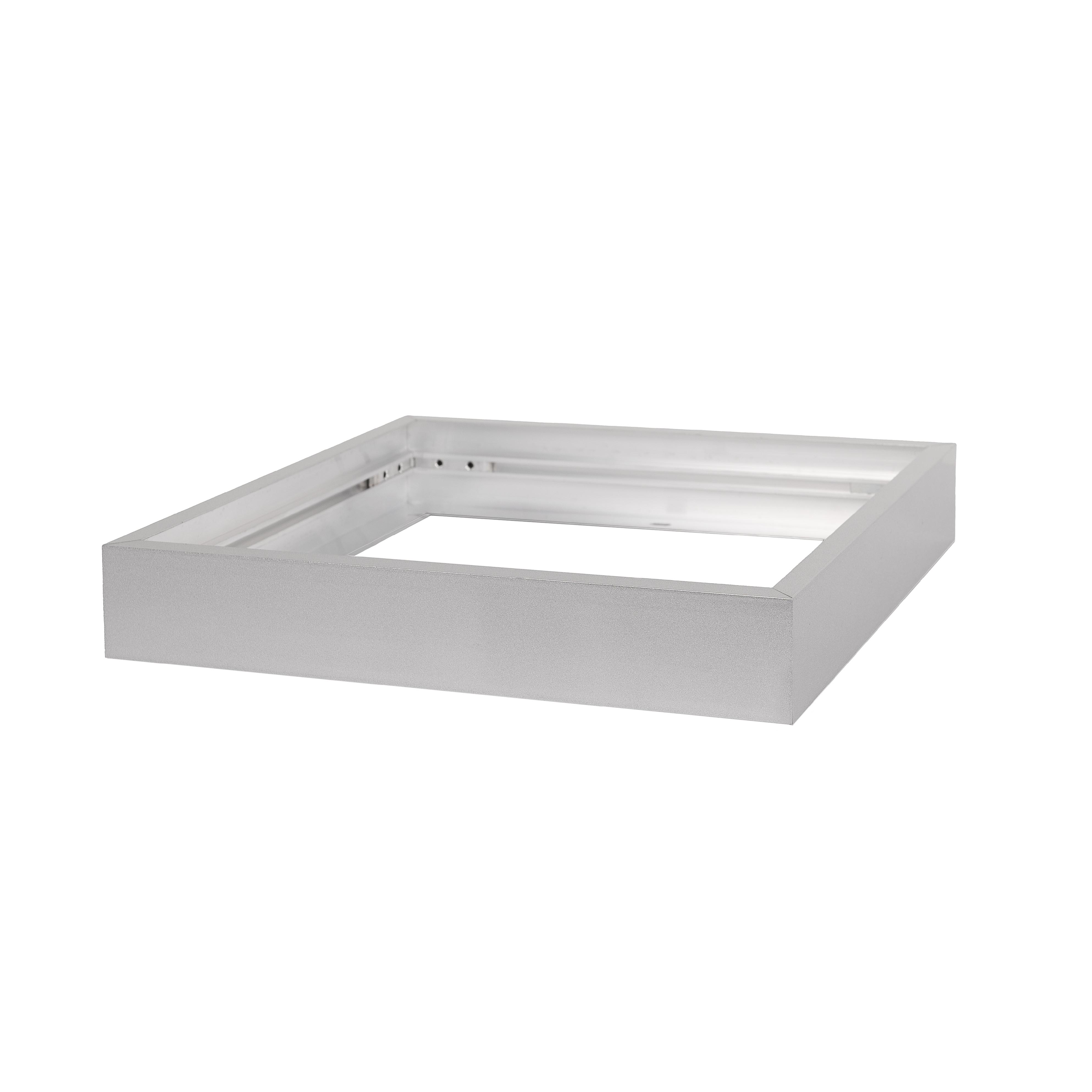 LED Solution Strieborný rámček pre panel Premium 300x300mm