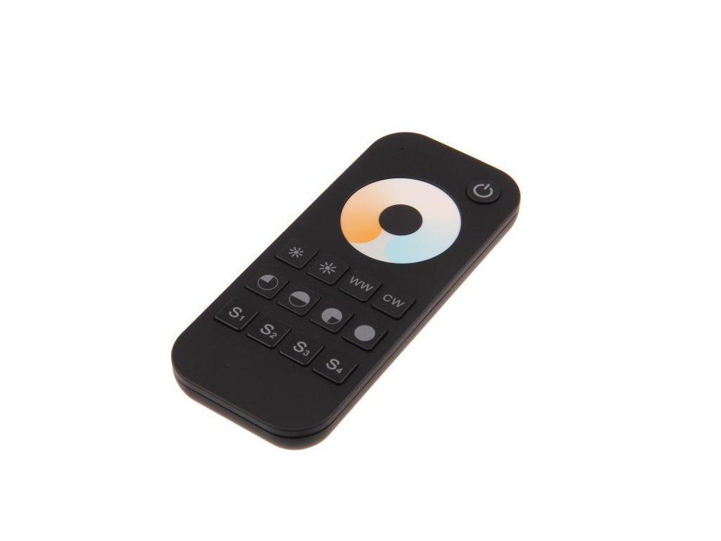 T-LED Diaľkový ovládač dimLED CCT čierny 1-kanálový 069134