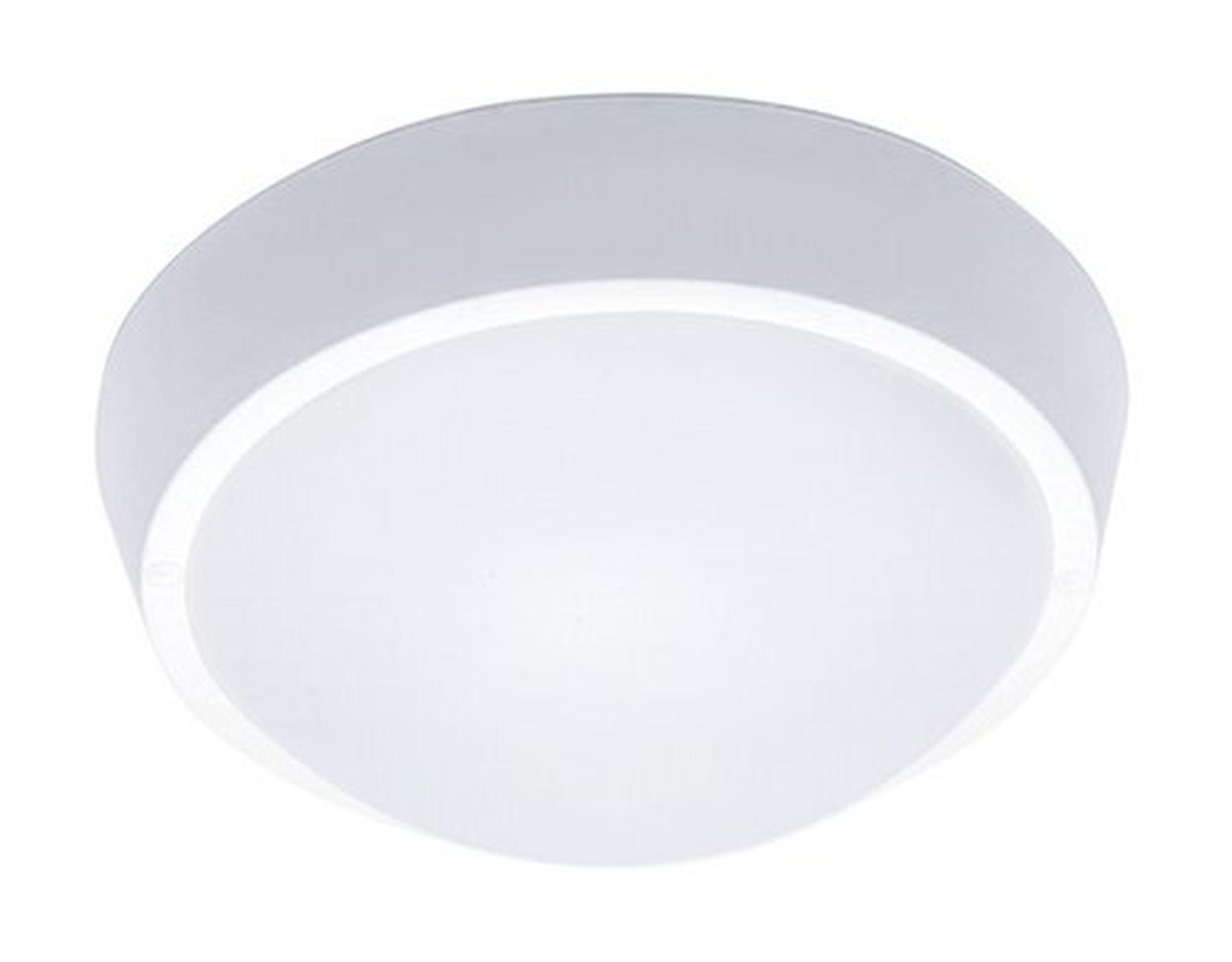 Solight Bílé LED stropní/nástěnné svítidlo 18W IP65 WO738