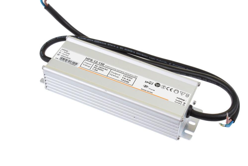 T-LED LED zdroj (trafo) 12V 150W IP67 Premium 051124