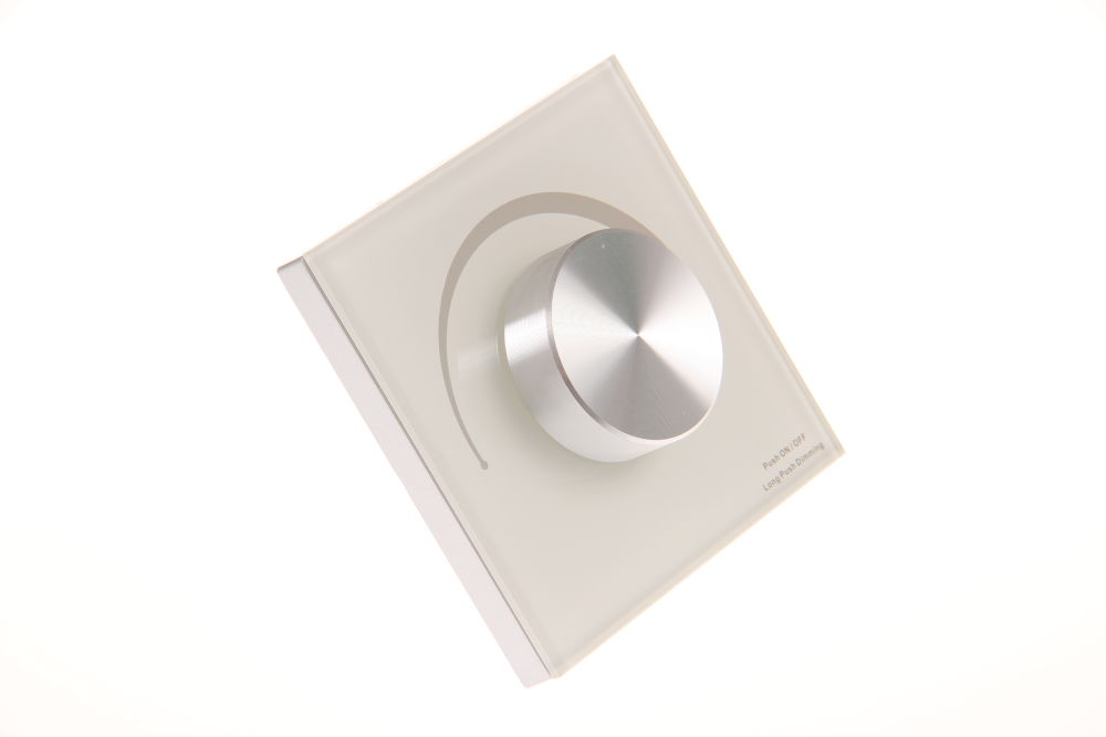 T-LED Nástenný triakový stmievač dimLED Farba:: biela