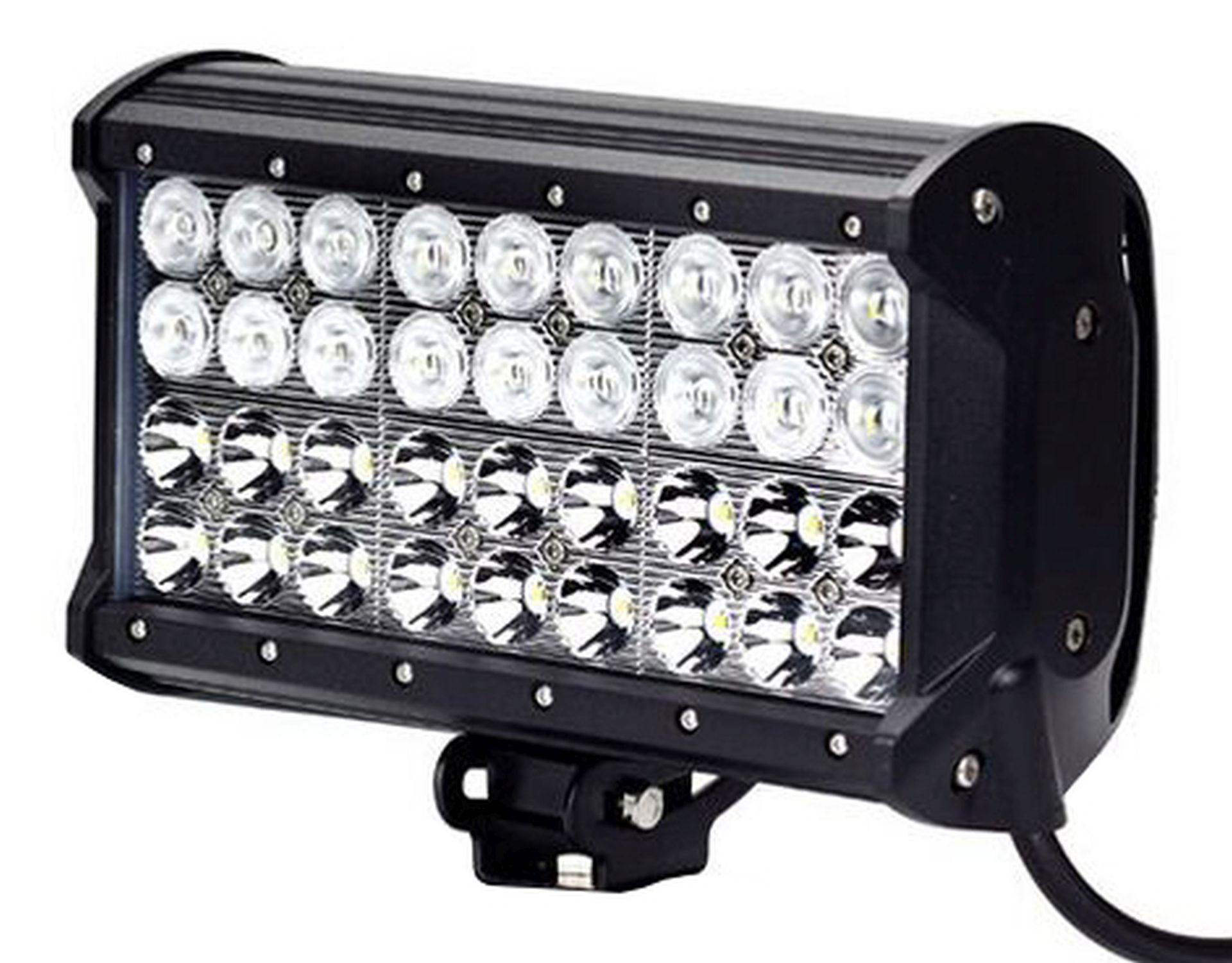 LED Solution LED pracovní světlo 108W BAR 10-30V 4-řady LB0044