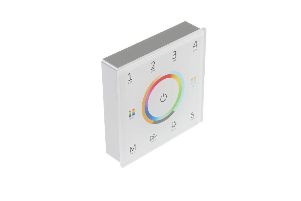 T-LED Bezdrôtový nástenný ovládač dimLED univerzálny Farba:: biela
