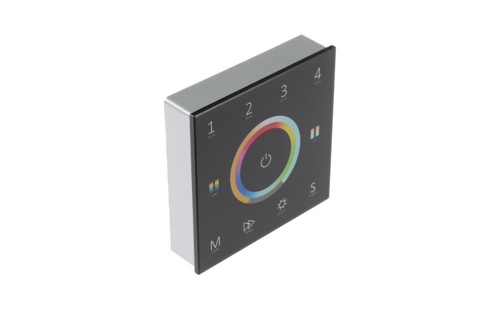 T-LED Nástenný Ovládač dimLED univerzálny Farba:: čierna
