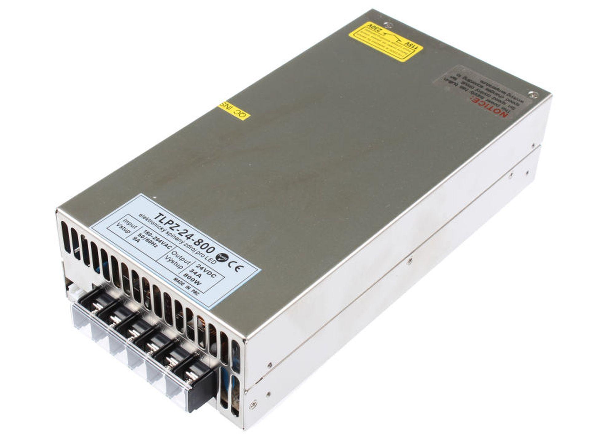 T-LED LED zdroj (trafo) 24V 800W - vnútorné 05529