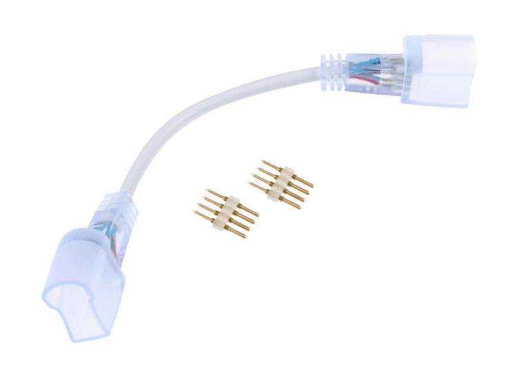 T-LED Spojka s káblom RGB NEON 083056