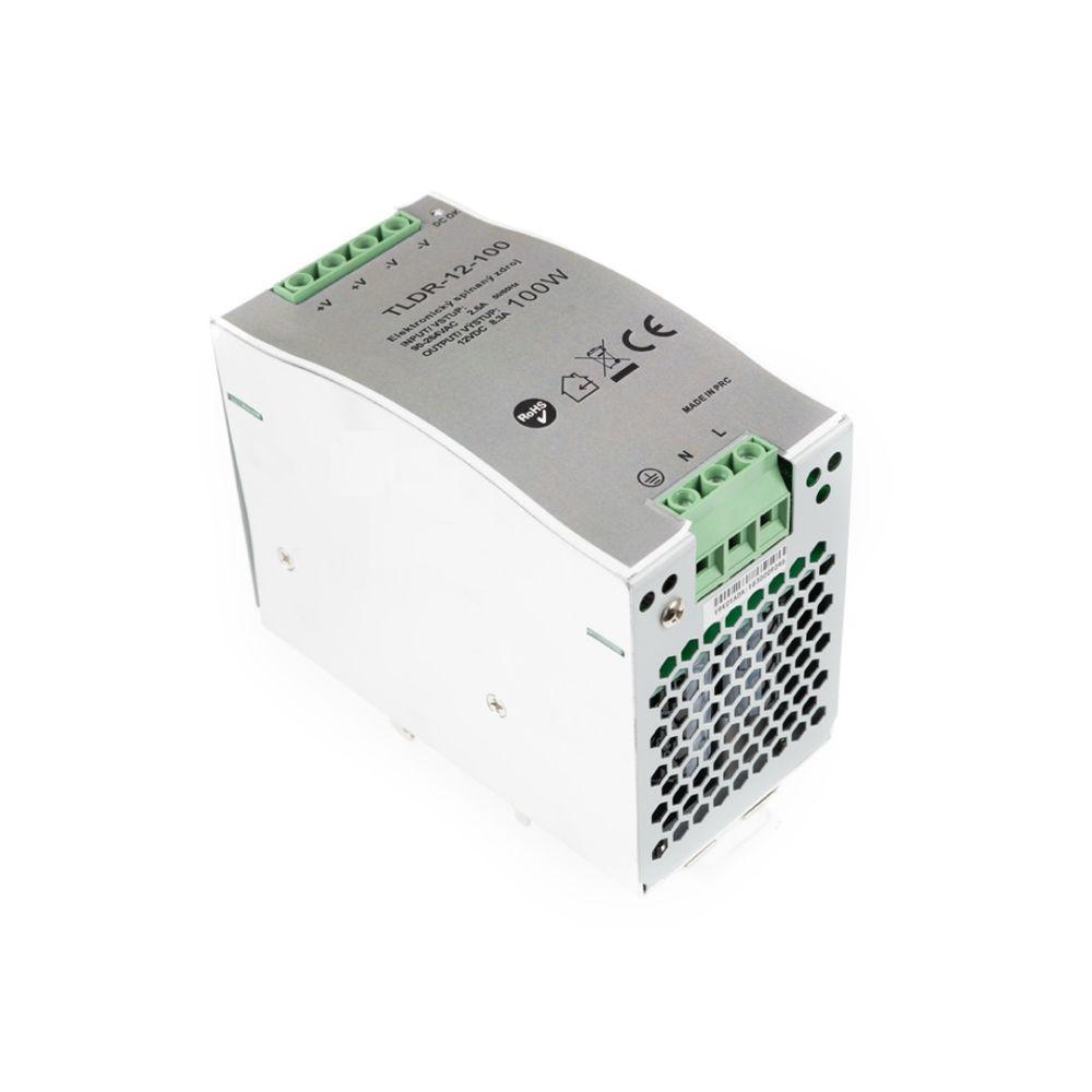 T-LED LED zdroj na DIN lištu 12V 100W