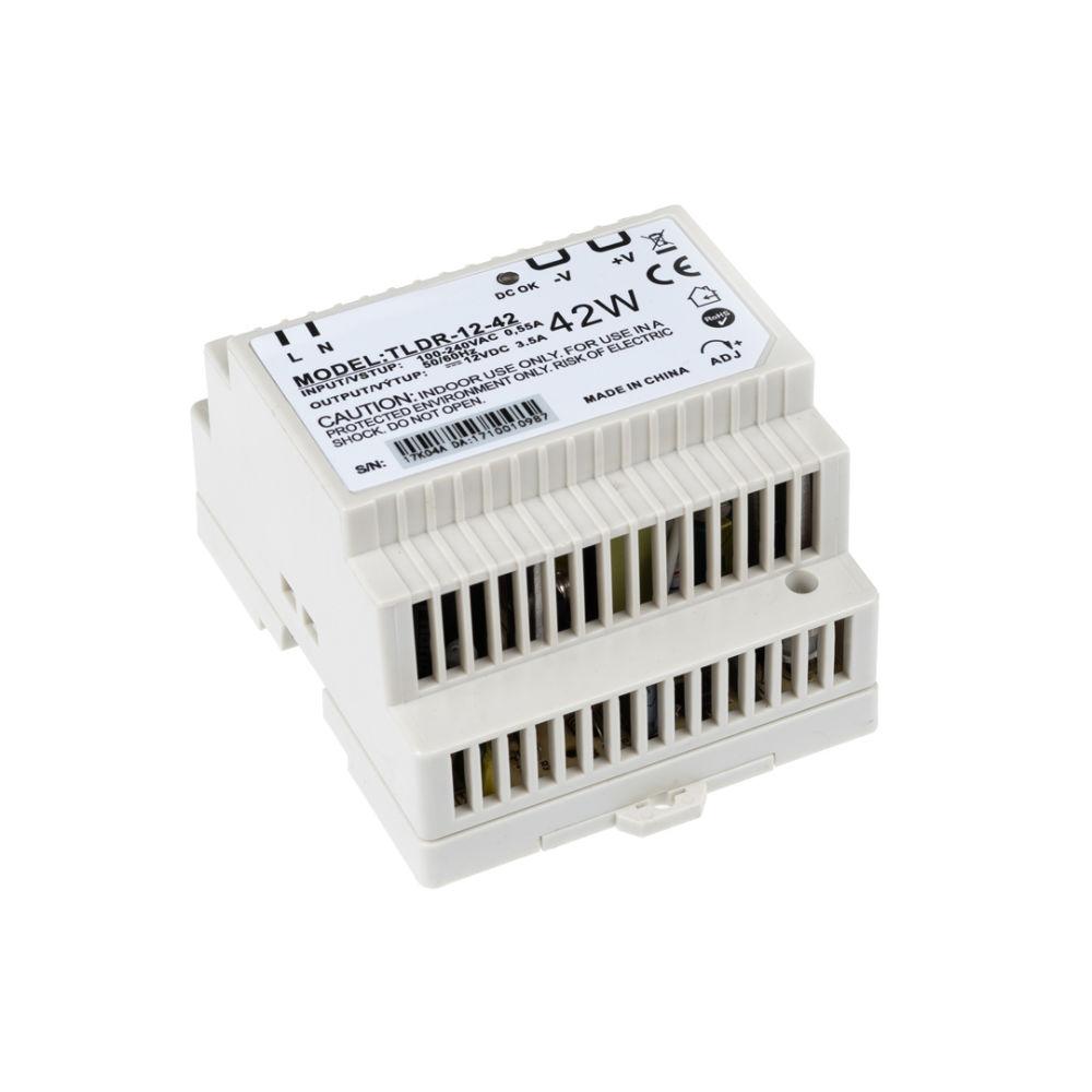 T-LED LED zdroj na DIN lištu 12V 42W
