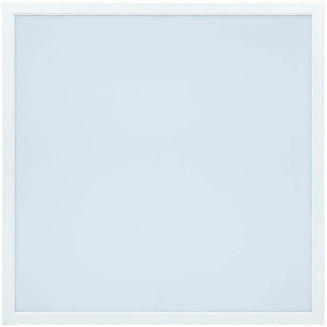 LED Solution Biely podhľadový LED panel 600 x 600mm 40W Economy Farba svetla: Teplá biela