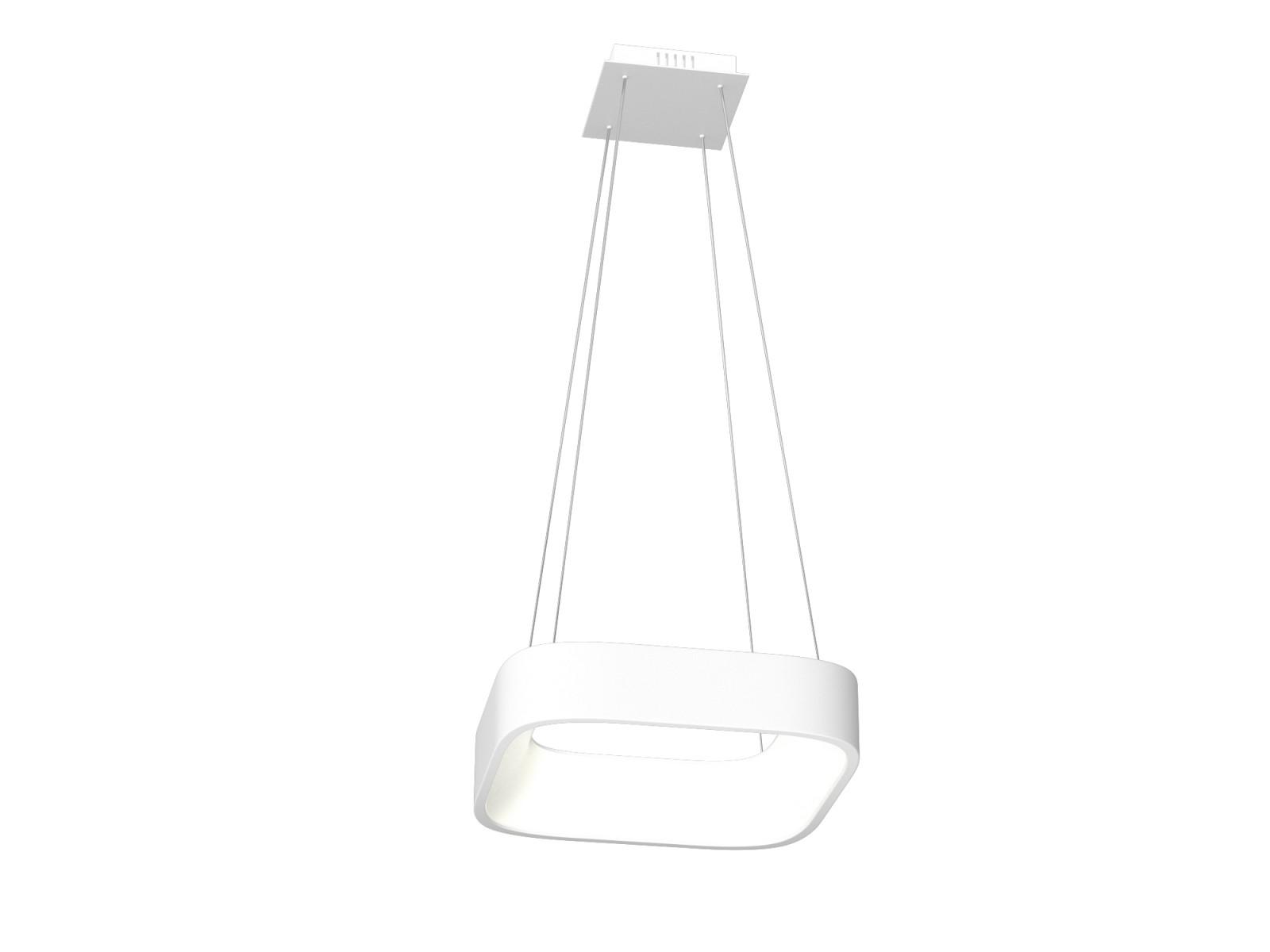 Immax Biele SMART závesné svietidlo hranaté 36W 45cm