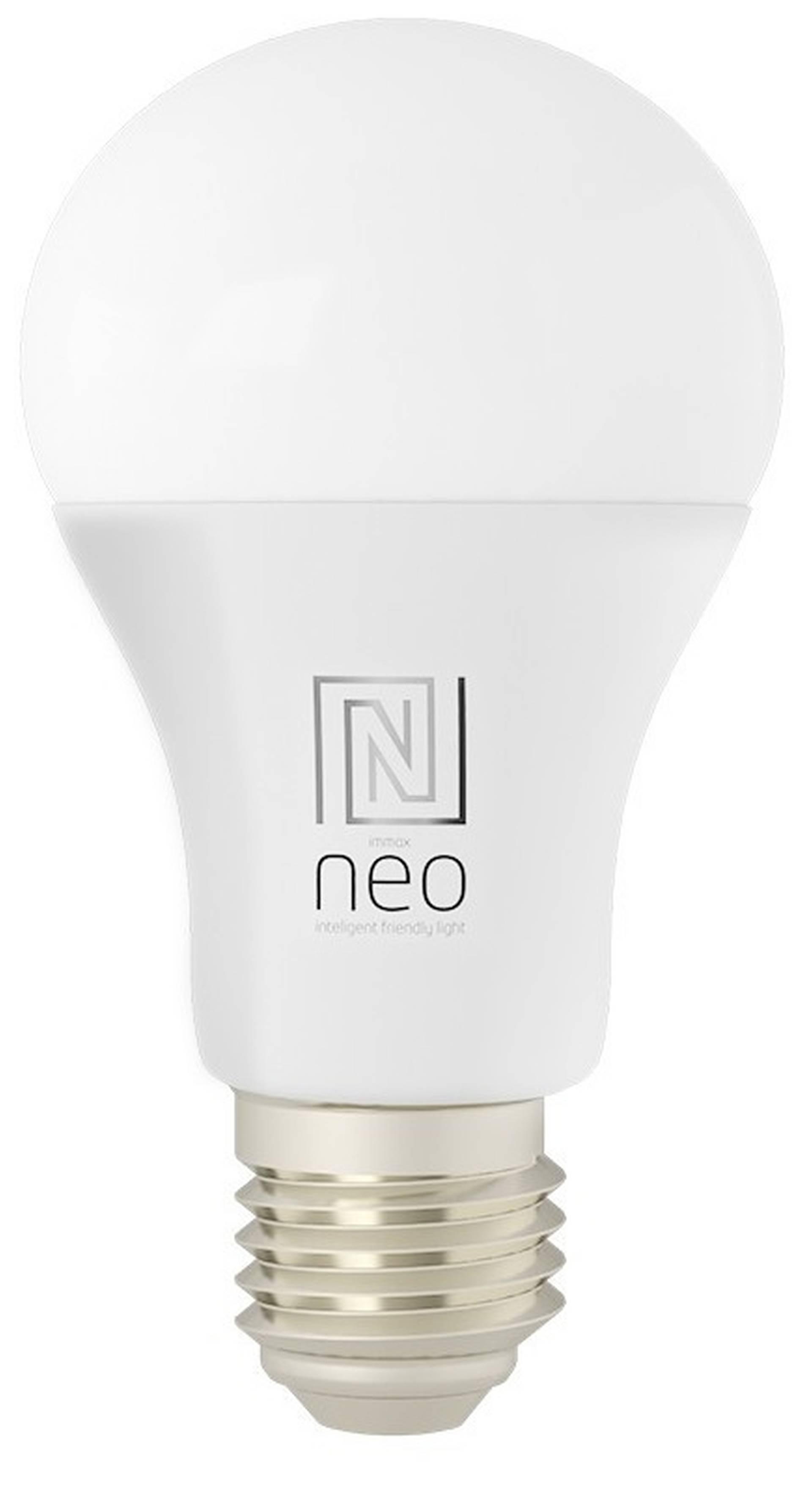 Immax SMART LED žiarovka RGBW CCT 9W E27 07115L