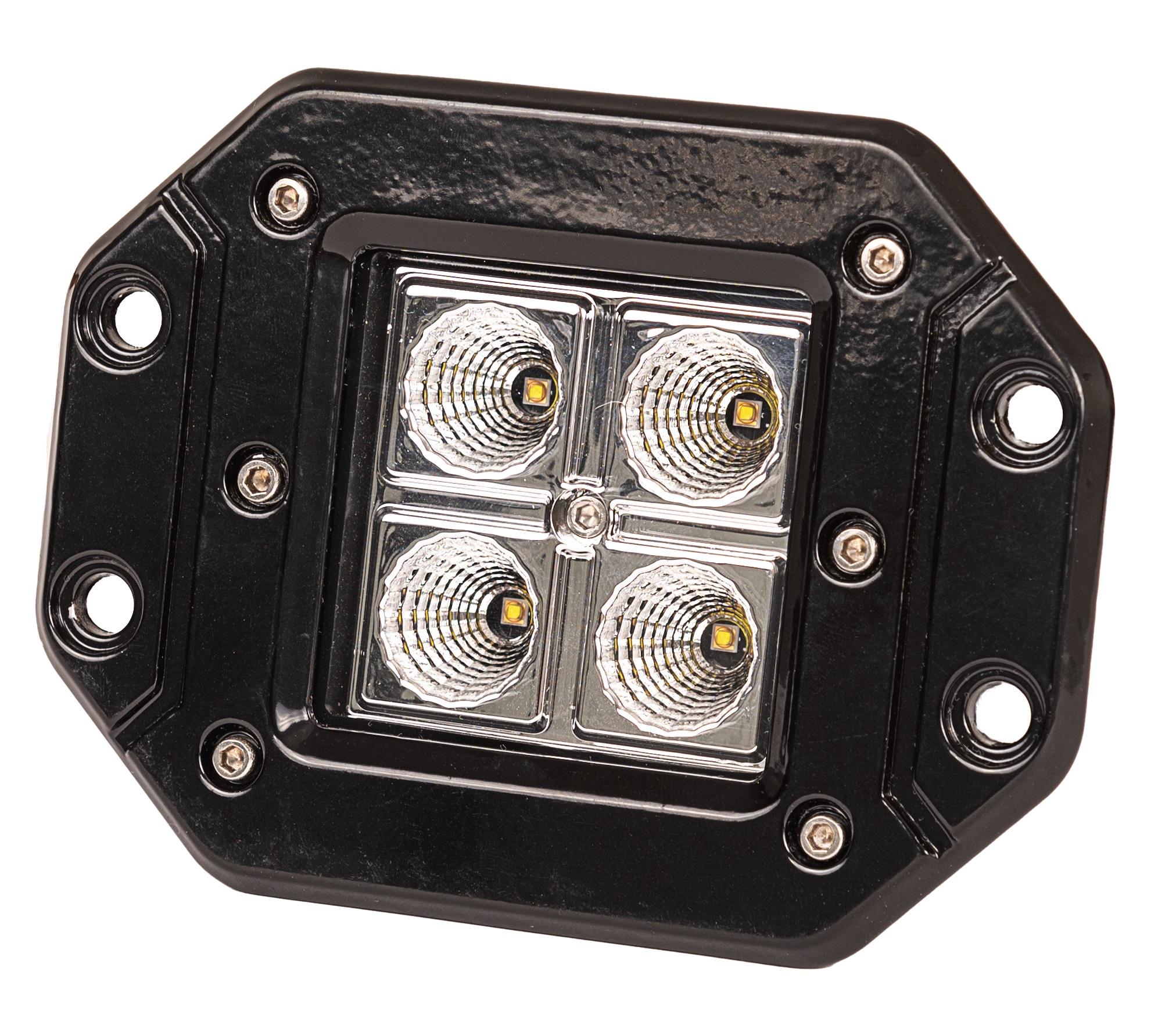 LED Solution LED pracovné svetlo 20W 10-30V vstavané