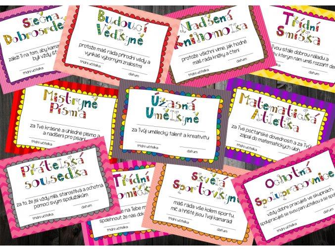 Nabídka holky celobarevné PNG