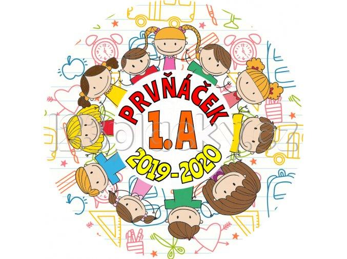 Placka PRVŇÁČEK 2019 - 2020