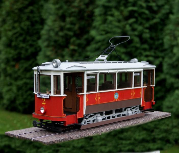 Těšínská tramvaj Ringhoffer na stole aneb jak jsem se už úplně zbláznil.