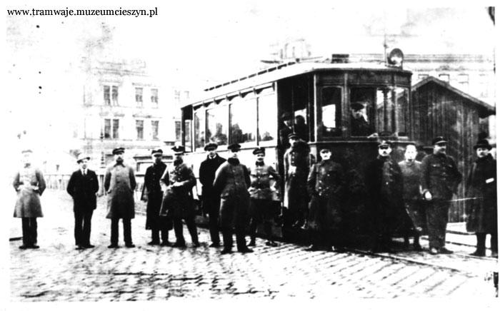 Těšínská tramvaj v roce 1910 - historie