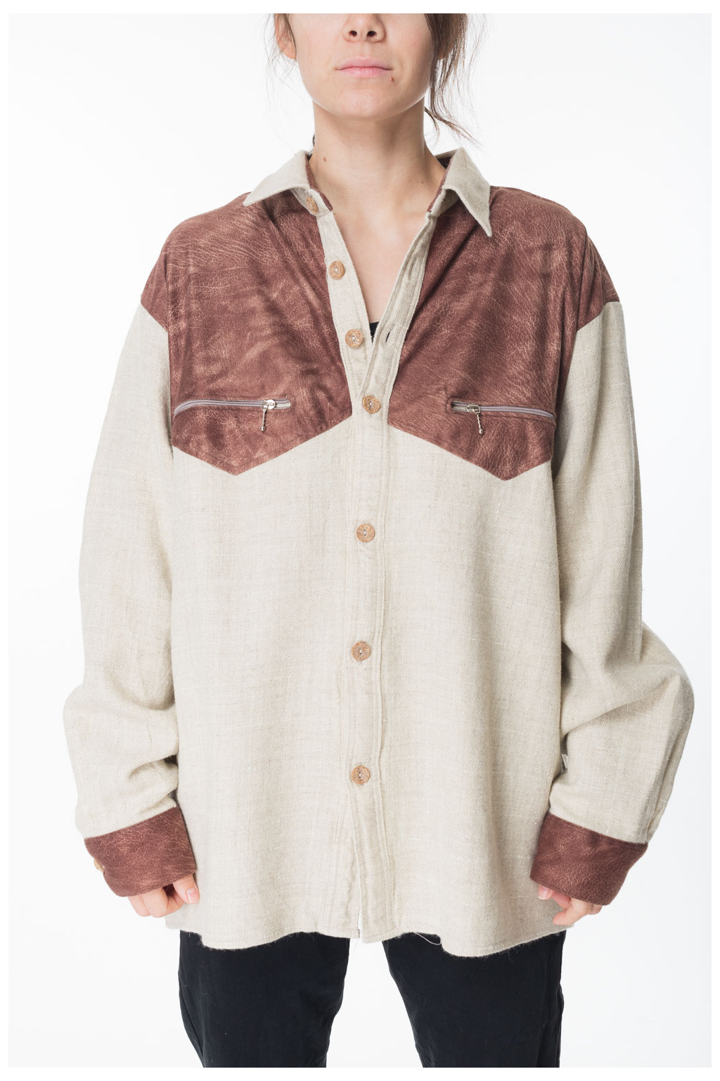 Košile Krémová