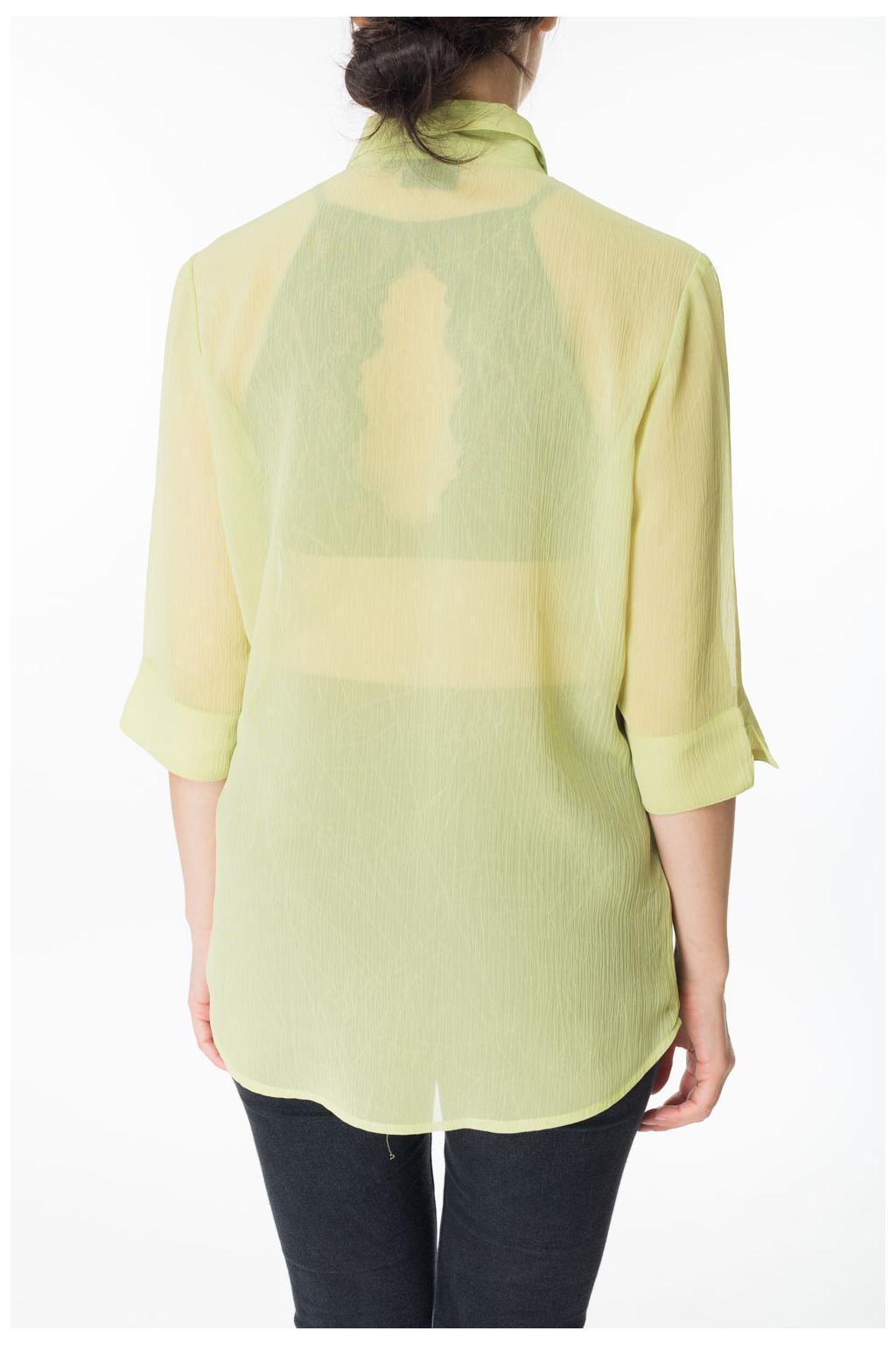 Košile Zelená
