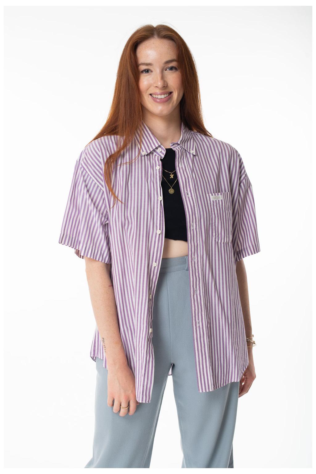 Košile Fialová