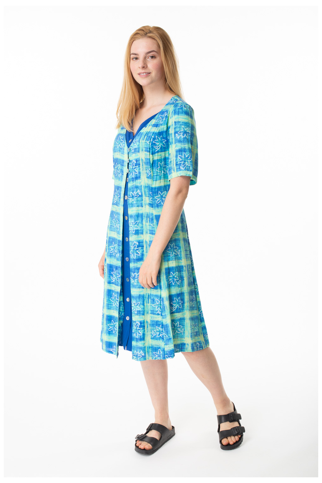 Šaty Modré