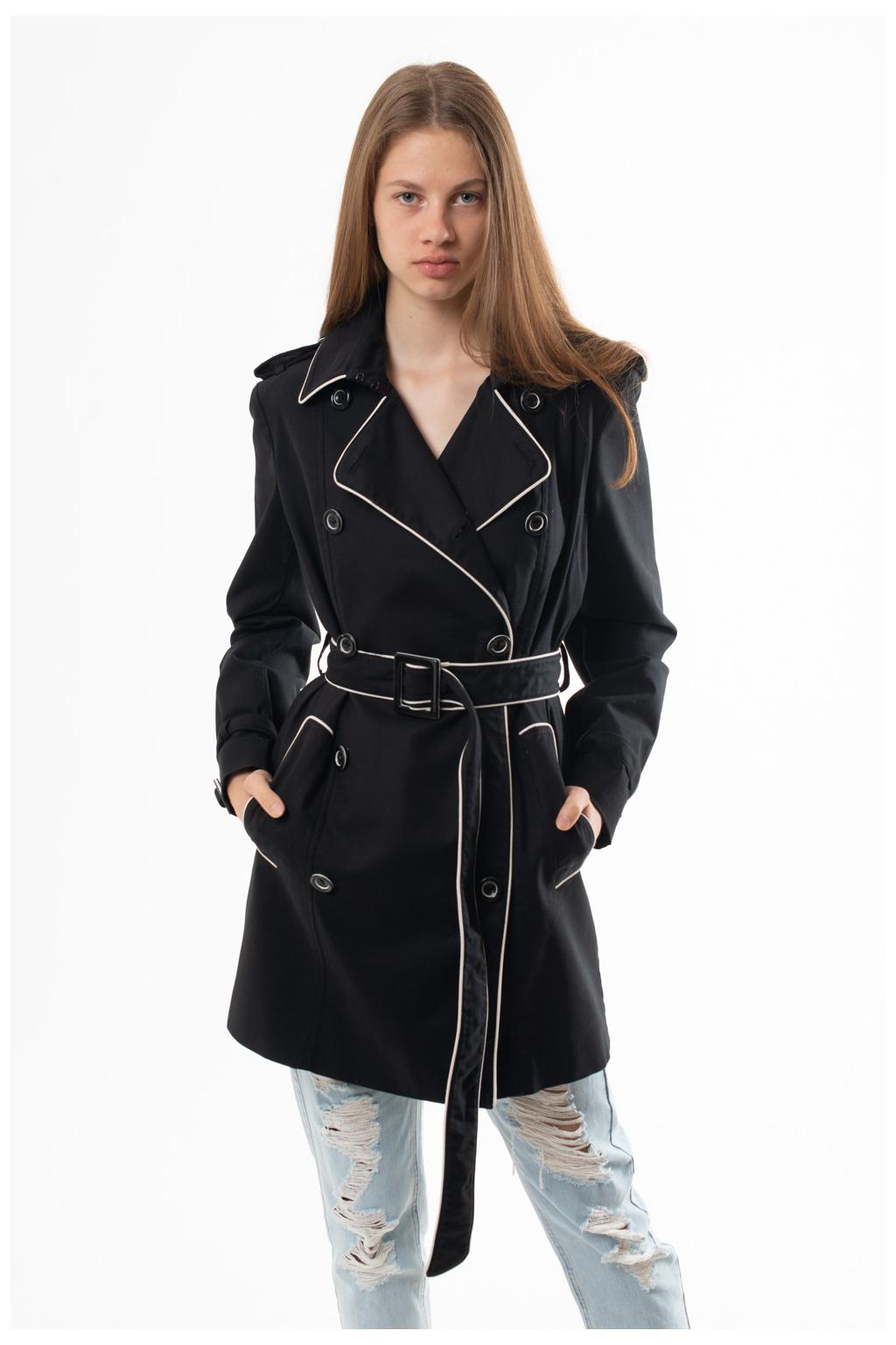 Kabát Černý