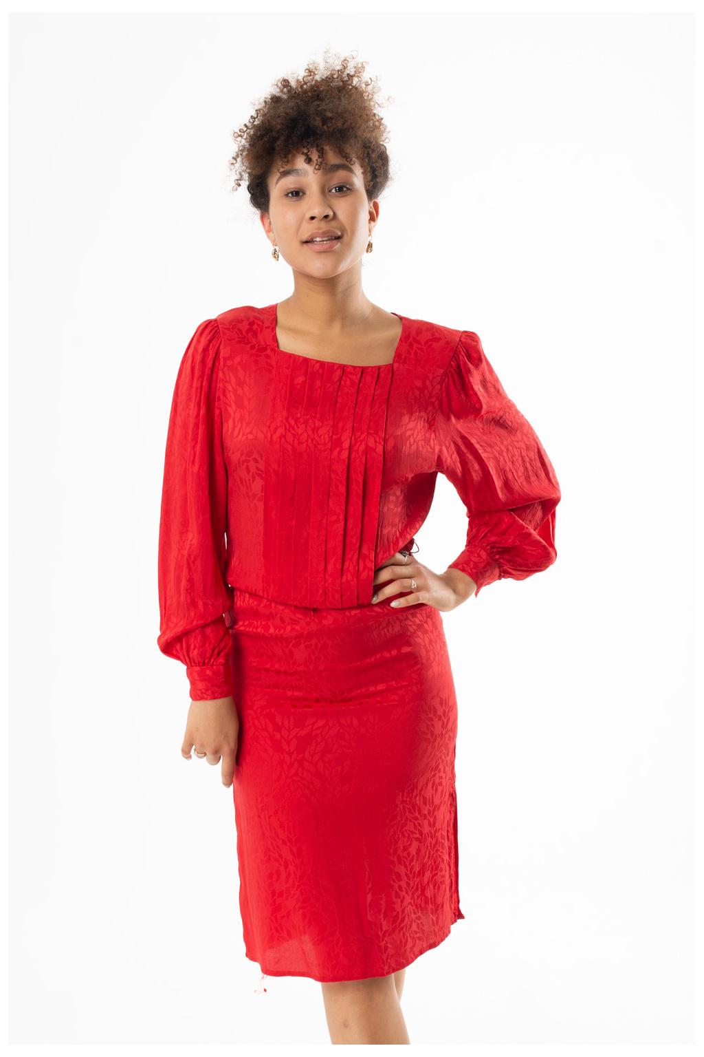Šaty Červené