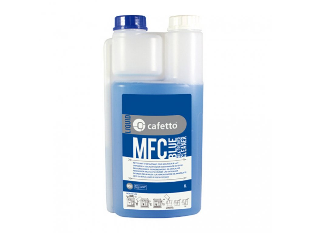 Cafetto daily milk system cleaning solution