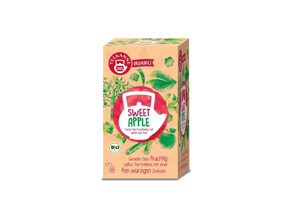 39953 teekanne bio sweet apple