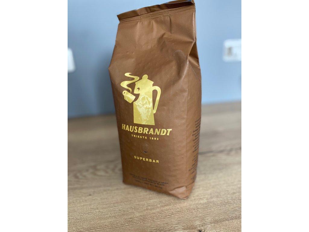 HAUSBRANDT SUPERBAR zrnková káva 1kg