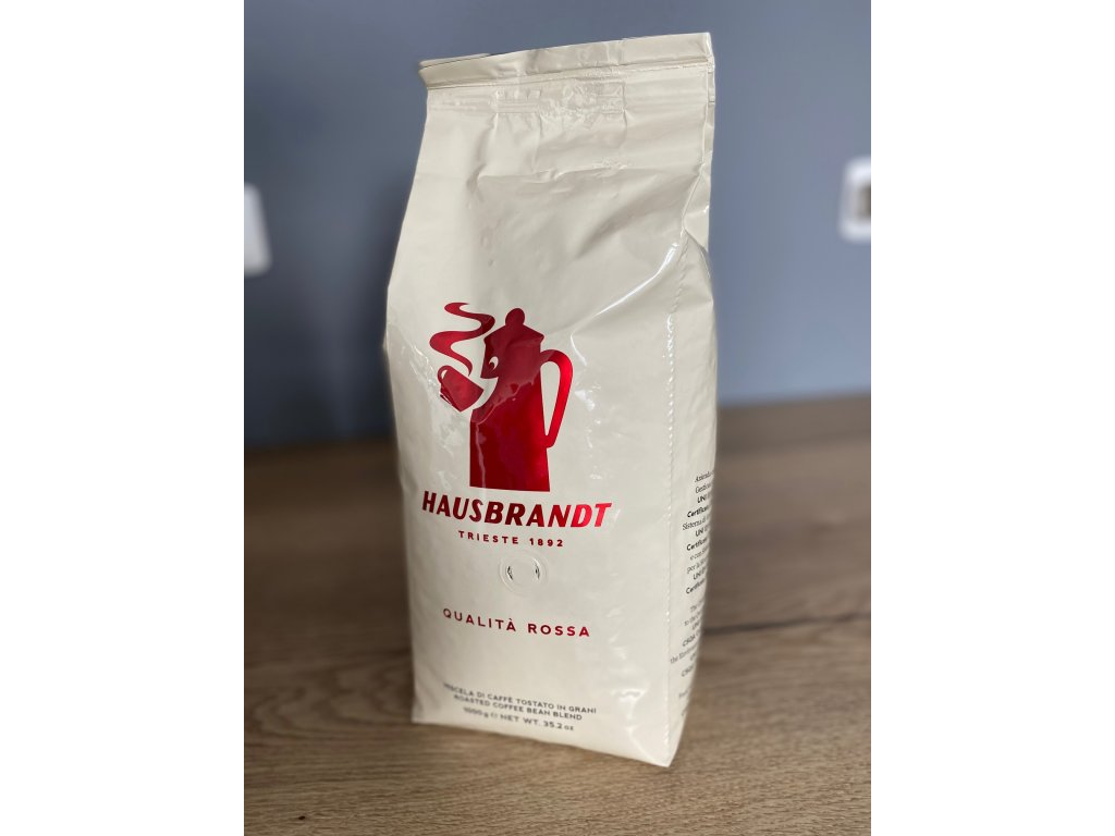 HAUSBRANDT QUALITA ROSSA zrnková káva 1kg