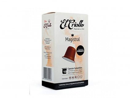 1569327098 cafe magistral el criollo 10 capsulas compatibles nespresso