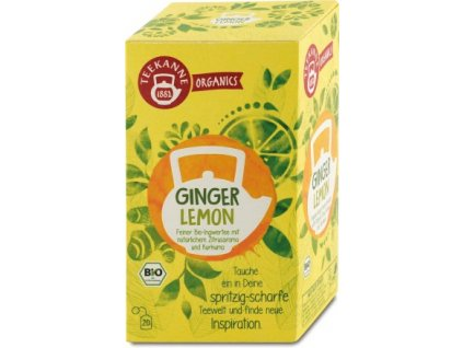 teekanne bylinny caj ginger lemon