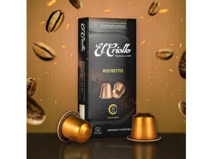 Kapsle El Criollo ristretto  Nespresso kompatibilní