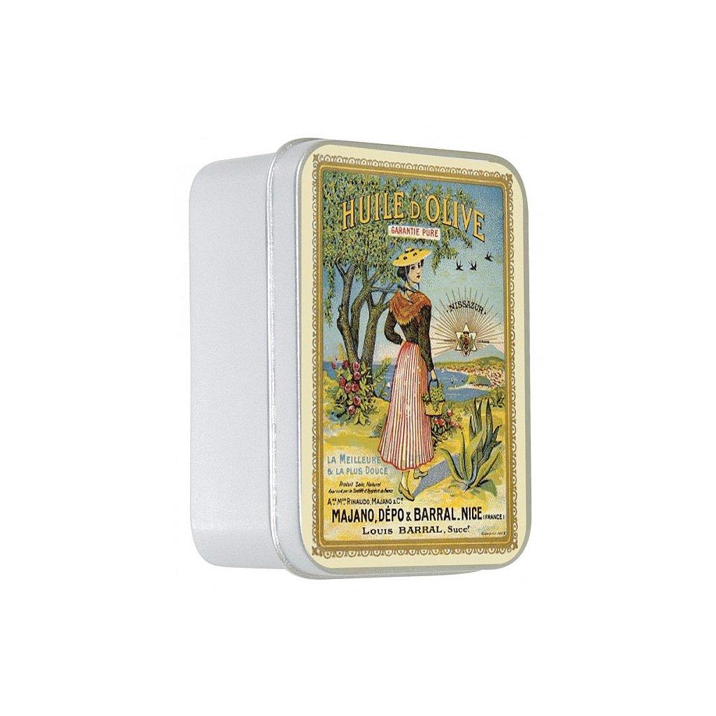 boite metal savon 100g la nicoise olive p image 29928 grande