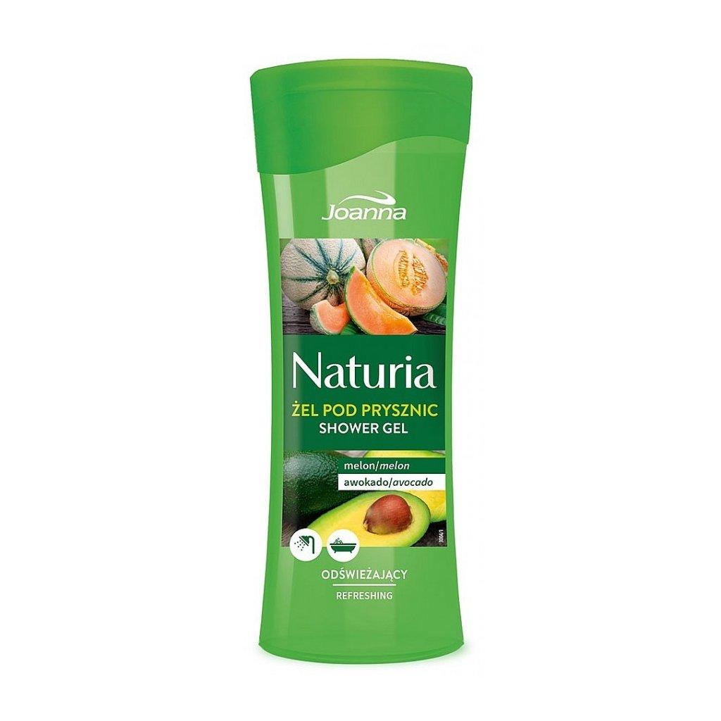 Sprchový gel MELOUN A AVOKÁDO NATURIA 300ml