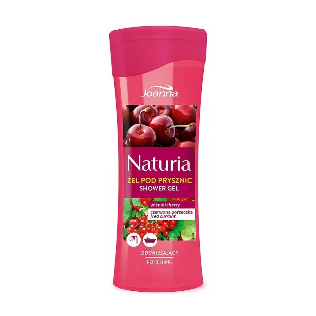 Sprchový gel VIŠEŇ a RYBÍZ NATURIA 300ml