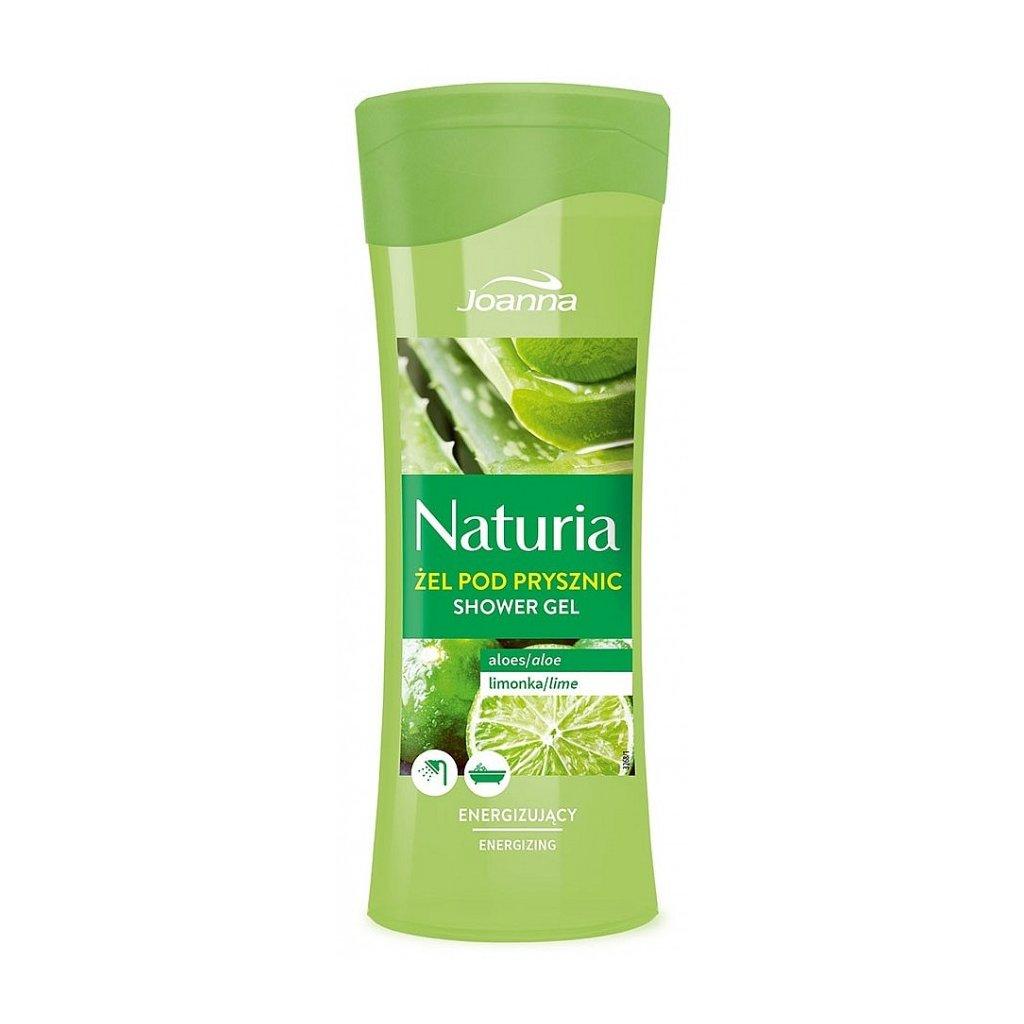 Sprchový gel ALOE VERA a LIMETKA NATURIA