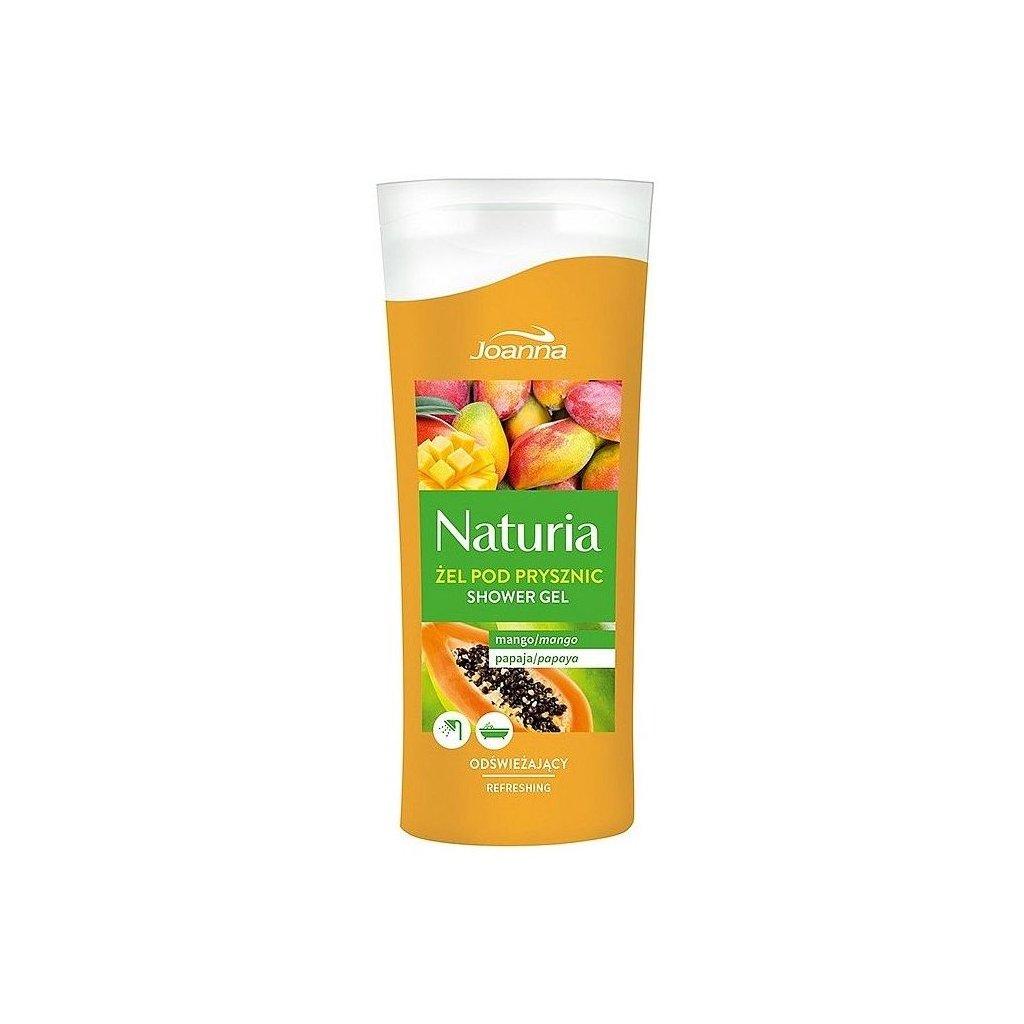 Sprchový gel MANGO A PAPAYA NATURIA